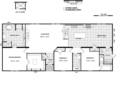 Floorplans for Schult Manufactured Homes